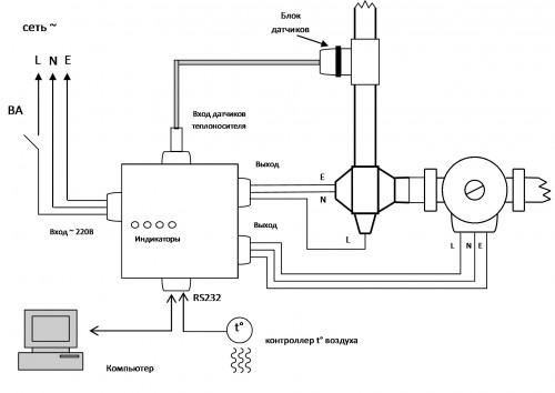 электродные котлы галан схема